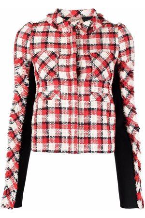 Nº21 Damen Jacken - Tweed-Jacke mit Check
