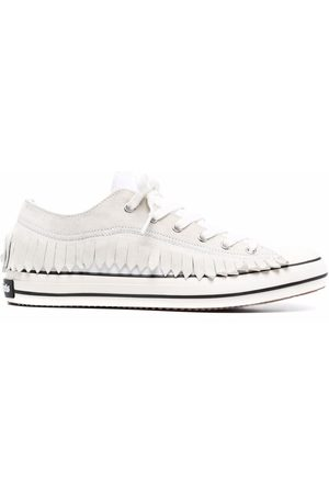 Palm Angels Vulcanized Sneakers mit Fransen