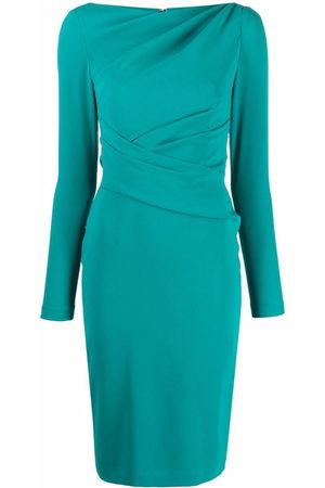TALBOT RUNHOF Enges Kleid mit Raffung