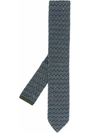 Missoni Chevron pattern tie
