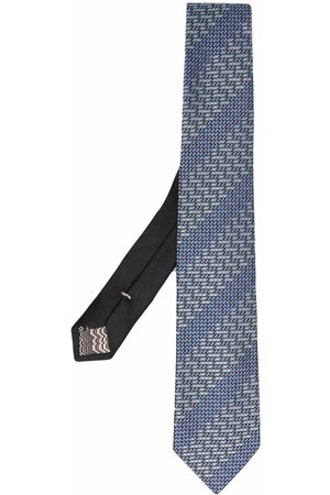 Missoni Herren Krawatten - Patterned jacquard tie