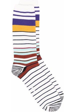 Missoni Gestreifte Socken