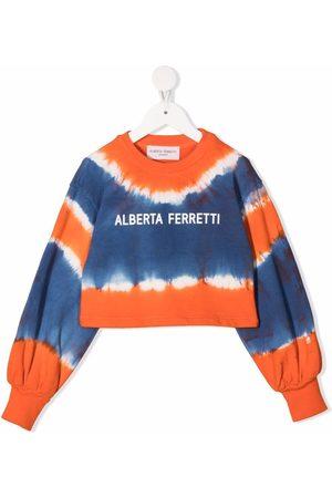 Alberta Ferretti Sweatshirt mit Batik-Print
