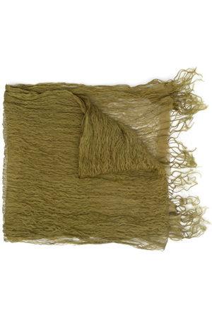 Issey Miyake Pre-Owned 2000s Schal mit Knitteroptik