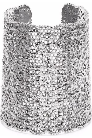Aurélie Bidermann Damen Armbänder - Armspange in Spitzenoptik - Metallisch