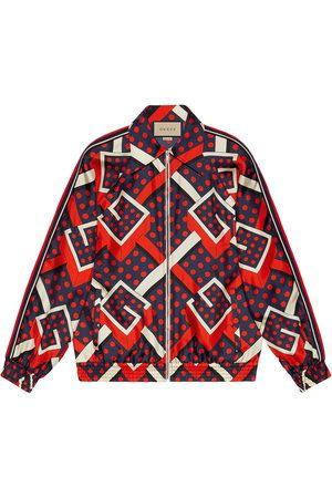Gucci G dot labyrinth print jacket