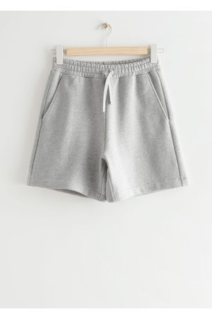 Other Stories Relaxed Drawstring Shorts - Grey