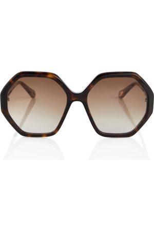Chloé Damen Sonnenbrillen - Eckige Sonnenbrille Esther
