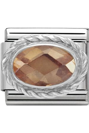 Nomination Accessoires - Classic - Composable Classic- Stein Champagne facettiert- 330604/024