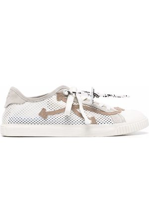 Off-White Mesh panelled low-top sneakers
