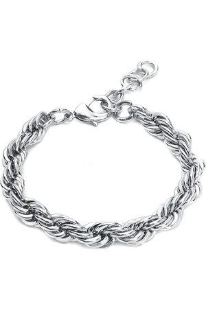 Basic Chain Herren Armbänder - Armkette silberfarben