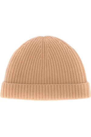N.Peal Hüte - Gerippte Kaschmirbeanie