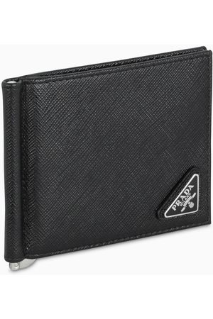 Prada Herren Geldbörsen & Etuis - Black leather wallet