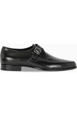 Saint Laurent Black Marceau monk strap shoes
