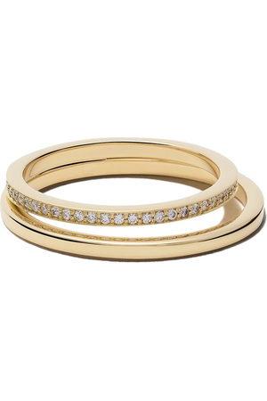 Georg Jensen Damen Ringe - 18kt Gelbgoldring mit Diamanten - YELLOW