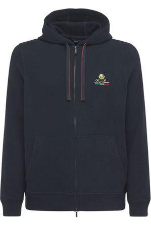 "Loro Piana Herren Sweatshirts - Hoodie Aus Baumwolle Mit Logo ""horsey"""