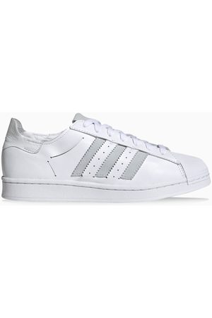 adidas White Superstar Minimalist Icons sneakers