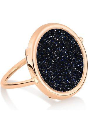 GINETTE NY Damen Ringe - Ring Ajna Blue Sand Stone