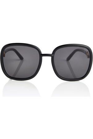 Gucci Eckige Oversize-Sonnenbrille