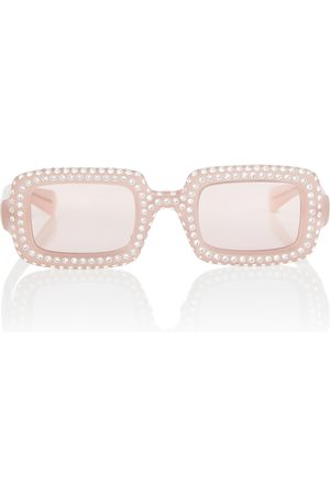 Miu Miu Verzierte Sonnenbrille aus Acetat