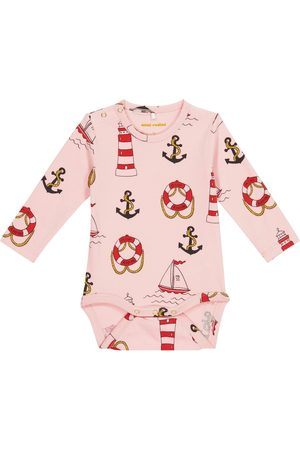 Mini Rodini Baby Body Lighthouse aus Baumwolle