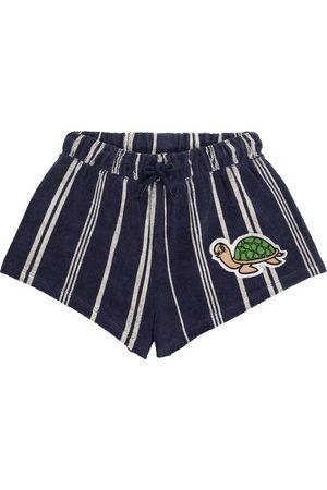 Mini Rodini Shorts Turtle aus Frottee