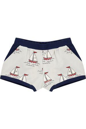 Mini Rodini Shorts Sailing Boats aus Baumwolle