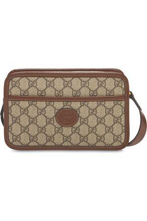 Gucci Logogg Supreme Canvas Mini Crossbody Bag