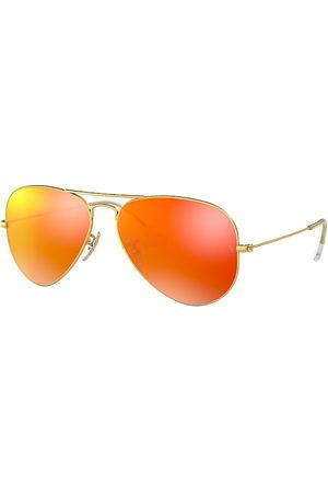 Ray-Ban Aviator Flash Lenses , Orange Lenses - RB3025