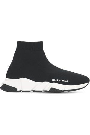"Balenciaga 30mm Hohe Sneakers Aus Strick ""speed"""