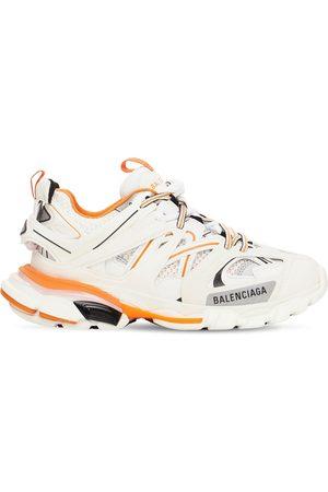 "BALENCIAGA 30mm Hohe Sneakers Aus Mesh Und Kunstleder ""track"""
