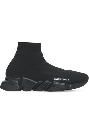 Balenciaga 30mm Hohe Slip-on-sneakers Aus Strick