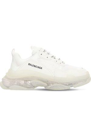 "Balenciaga 60mm Hohe Sneakers Aus Mesh ""triple S Clear Soul"""
