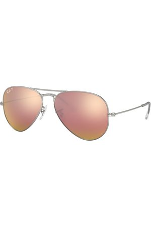 Ray-Ban Aviator Flash Lenses , Pink Lenses - RB3025