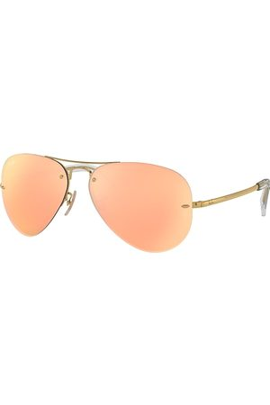 Ray-Ban Rb3449 , Pink Lenses - RB3449