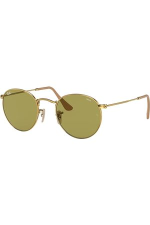 Ray-Ban Round Washed Evolve , Grün Lenses - RB3447