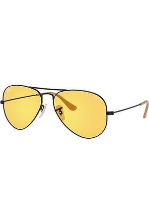 Ray-Ban Aviator Washed Evolve , Gelb Lenses - RB3025