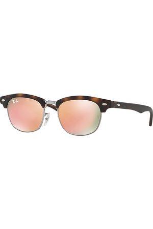 Ray-Ban Clubmaster Junior Havana, Pink Lenses - RJ9050S