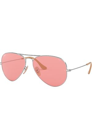 Ray-Ban Aviator Washed Evolve , Pink Lenses - RB3025