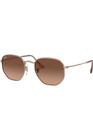Ray-Ban Hexagonal Flat Lenses Bronze-Kupfer, Lenses - RB3548N
