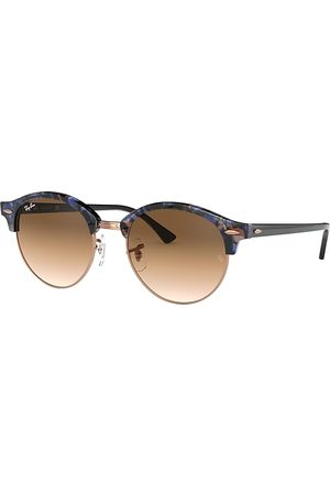 Ray-Ban Clubround Fleck , Braun Lenses - RB4246