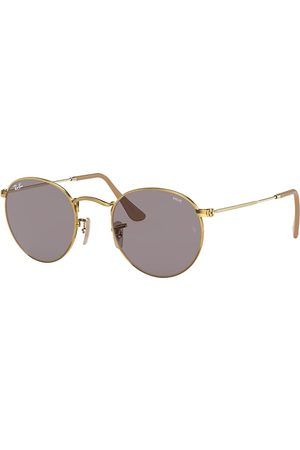 Ray-Ban Round Washed Evolve , Grau Lenses - RB3447