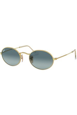 Ray-Ban Oval , Blau Lenses - RB3547