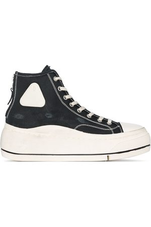 R13 Damen Sneakers - Flatform high-top sneakers