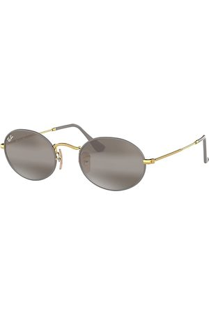 Ray-Ban Oval , Grau Lenses - RB3547