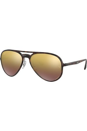 Ray-Ban Rb4320 Chromance Havana, Polarized Violett Lenses - RB4320CH