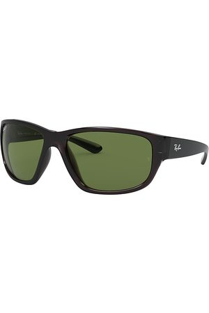 Ray-Ban Rb4300 transparent, Polarized Grün Lenses - RB4300