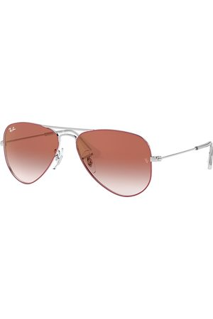 Ray-Ban Aviator Junior , Rot Lenses - RJ9506S