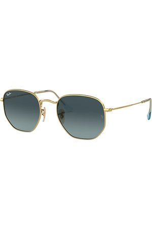 Ray-Ban Hexagonal Flat Lenses , Blau Lenses - RB3548N