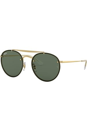 Ray-Ban Blaze Round Double Bridge , Grün Lenses - RB3614N